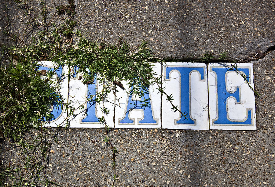 State Street Photograph - State Street Tiles by Federico Arce