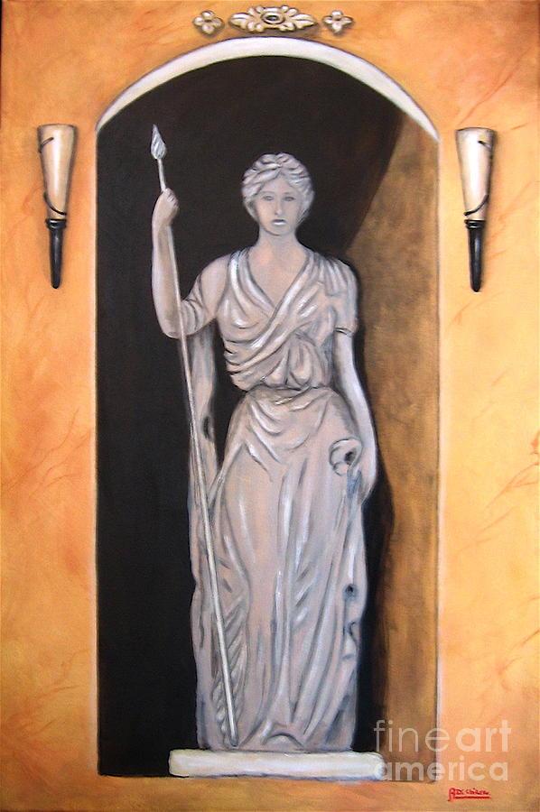 Statua Romana Painting