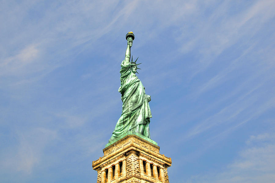 Statue Of Liberty Photograph - Statue Of Liberty by Randy Aveille