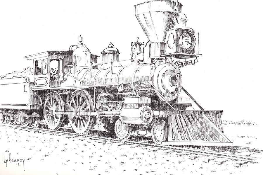 Related Keywords & Suggestions for locomotive drawings free