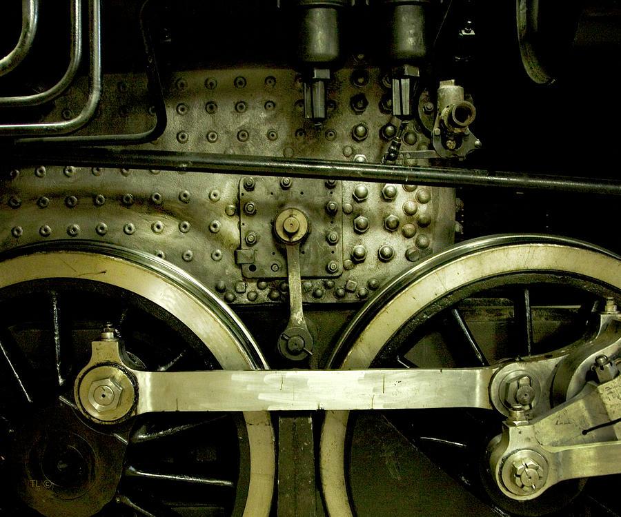 Train Photographs Photograph - Steam Power I by Theresa Tahara