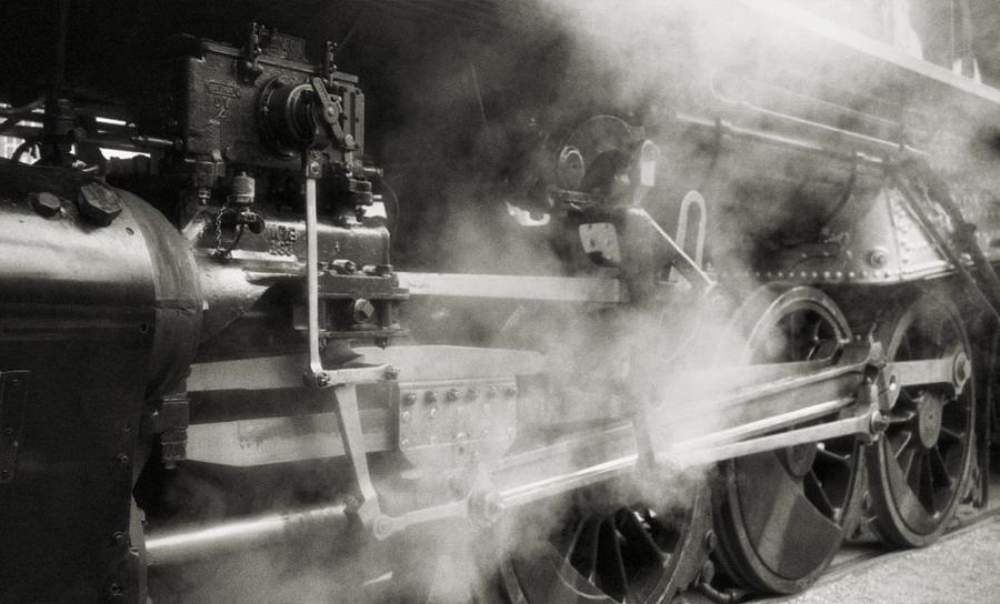 Trains Photograph - Steam Power by Richard Rizzo