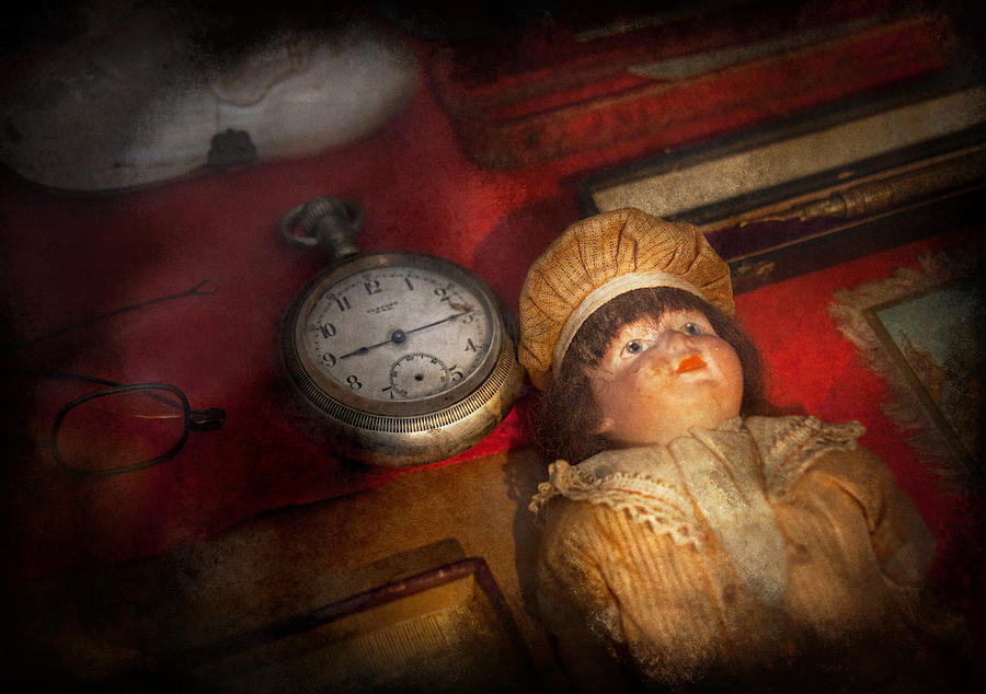 Hdr Photograph - Steampunk - 9-14  by Mike Savad