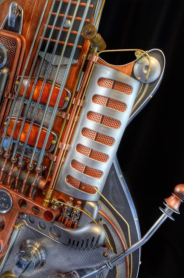 Steampunk Guitar Photograph