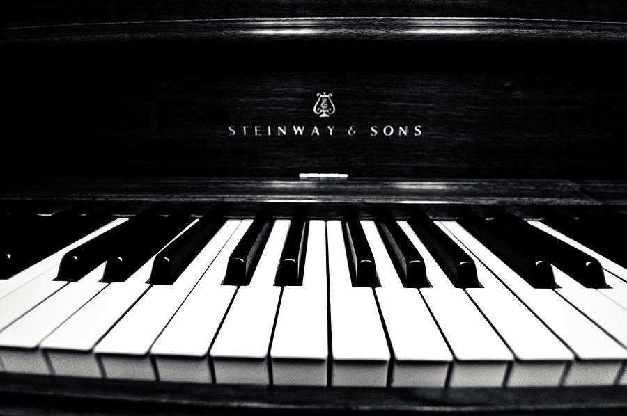 Piano Photograph - Steinway And Sons by Sam Hymas