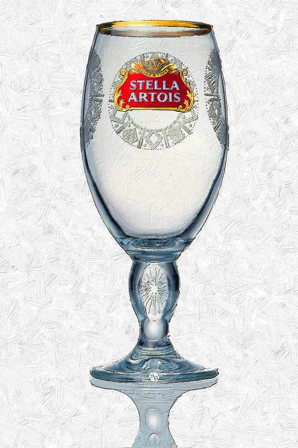 Stella artois chalice painting collectable painting by for Stalla ovini dwg