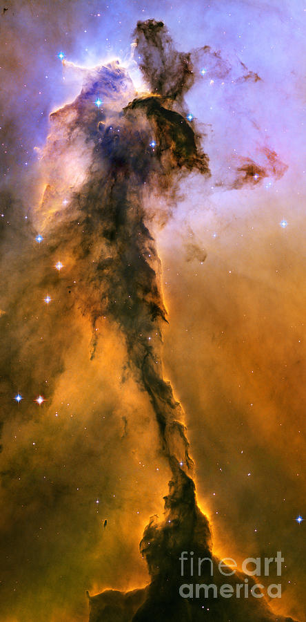 Stellar Spire In The Eagle Nebula Photograph