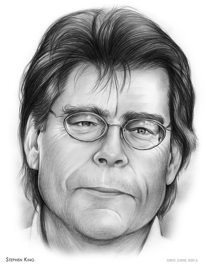 Stephen King Drawing