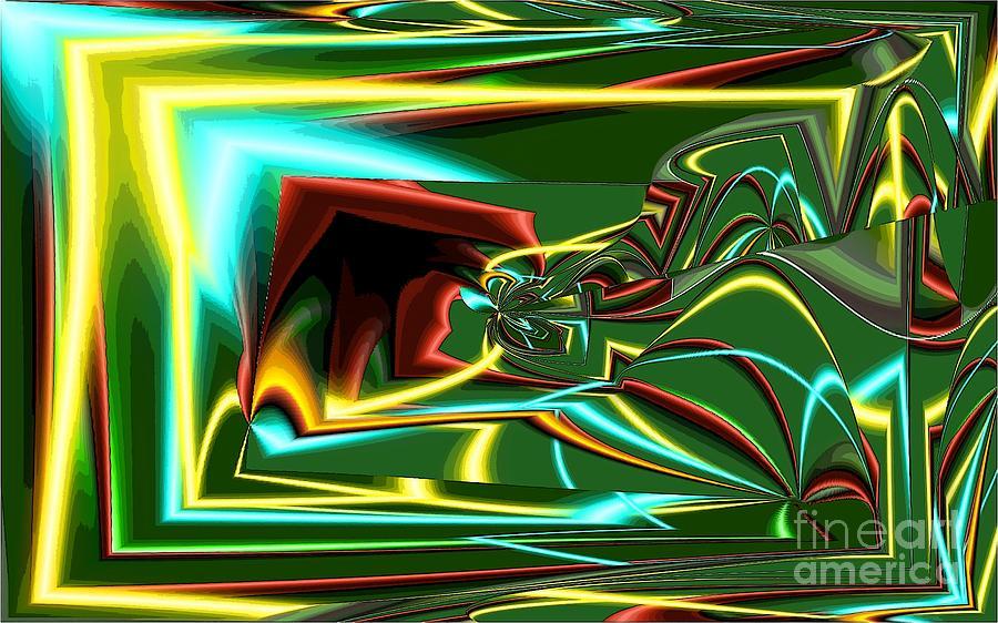 Stereo Needle Digital Art