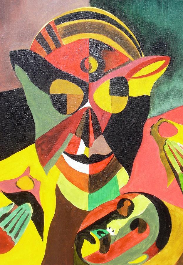 Stigma Painting - Stigma by Surya Prakash Makarla