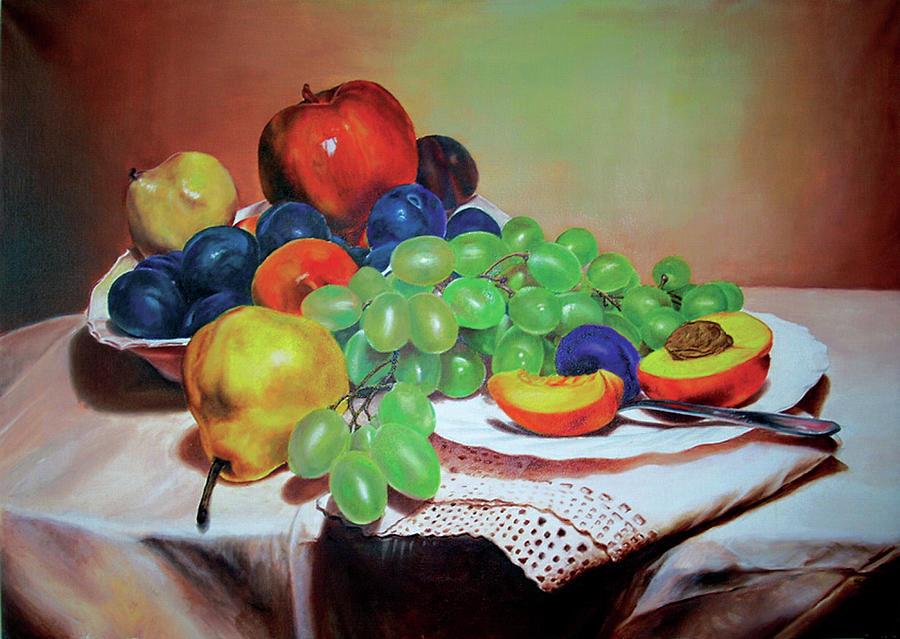 Still Life Painting - Still Life by Dragan Gilic