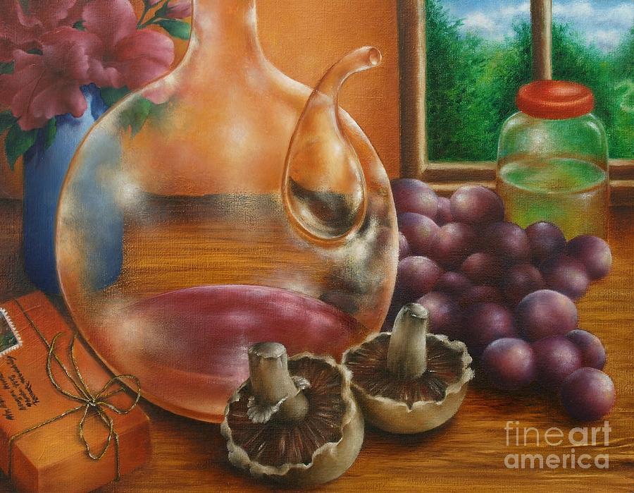 Still Life In Oil Painting