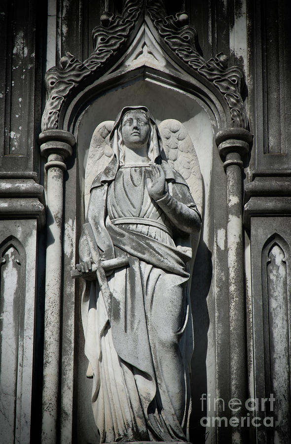 Stone Angel Photograph