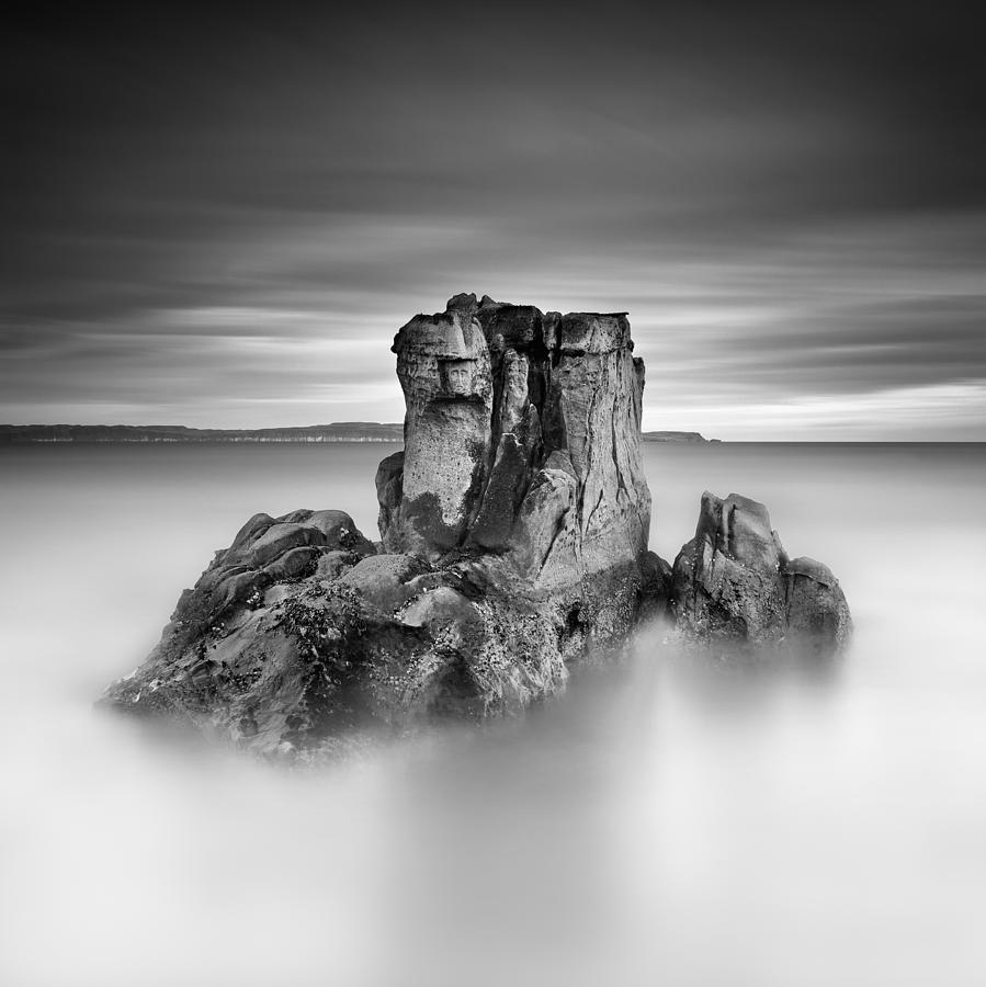 Stone Face Photograph - Stone Face by Pawel Klarecki
