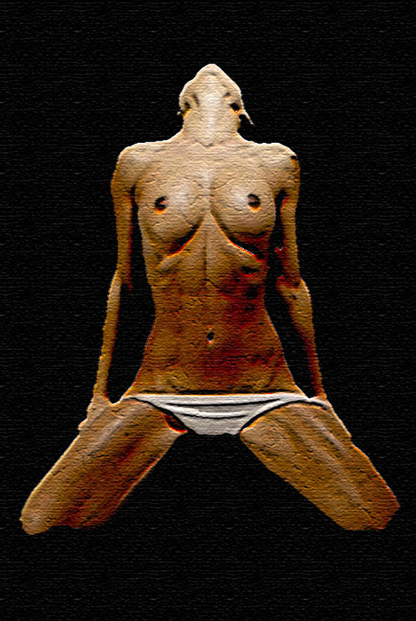 Nude Painting - Stoned 3 by Tbone Oliver