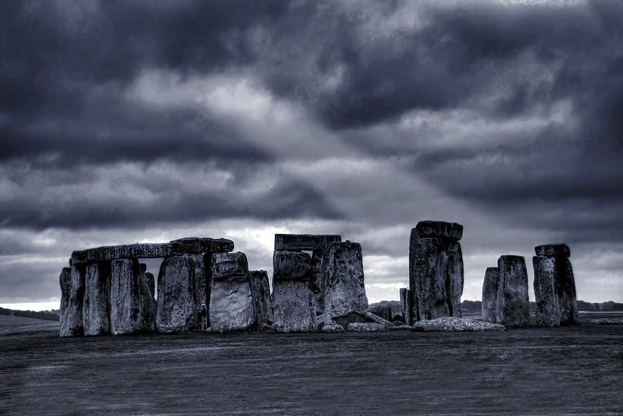 Ancient Photograph - Stonehenge by  Jaroslaw Grudzinski