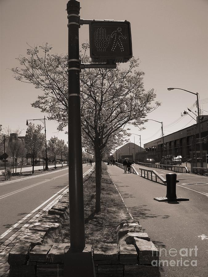New York Photograph - Stop...go by Katie Victoria