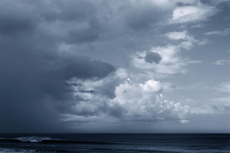 Storm Clouds Over Ocean #2 Photograph