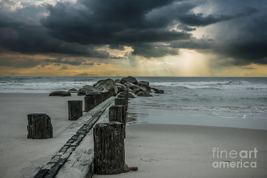 Storm Clouds Over The Atlantic Photograph