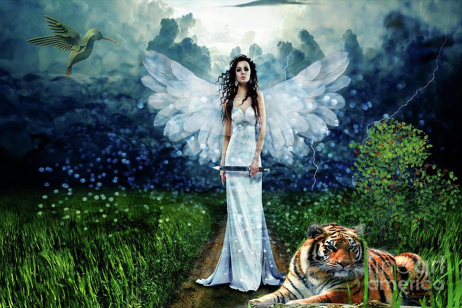 Storm Maiden Digital Art