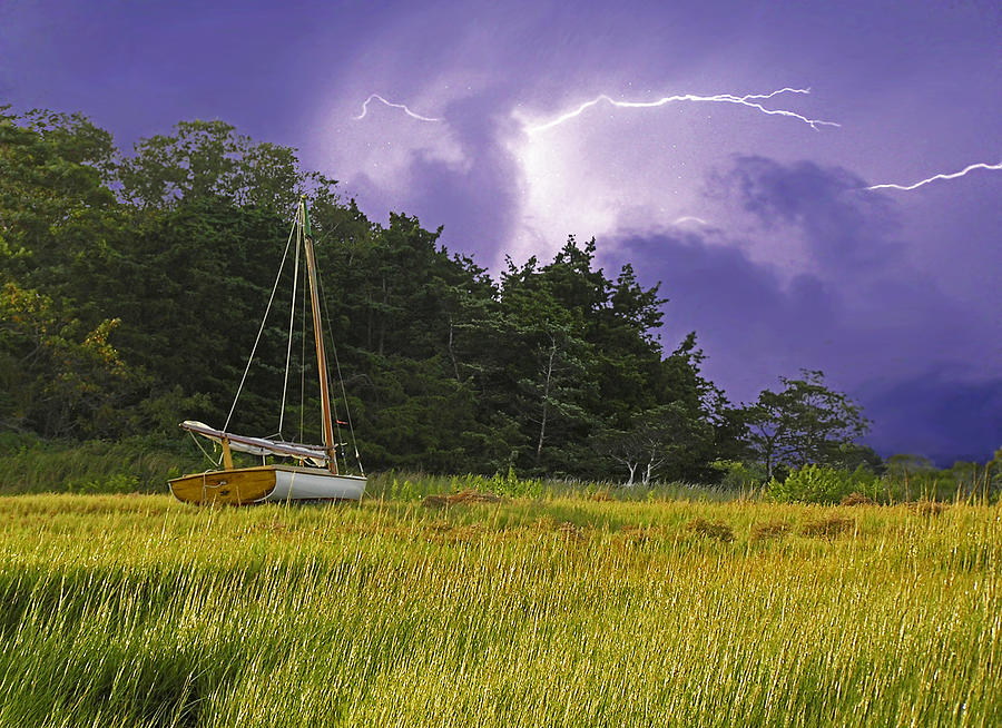 Barnstable Photograph - Storm Over Knotts Island by Charles Harden