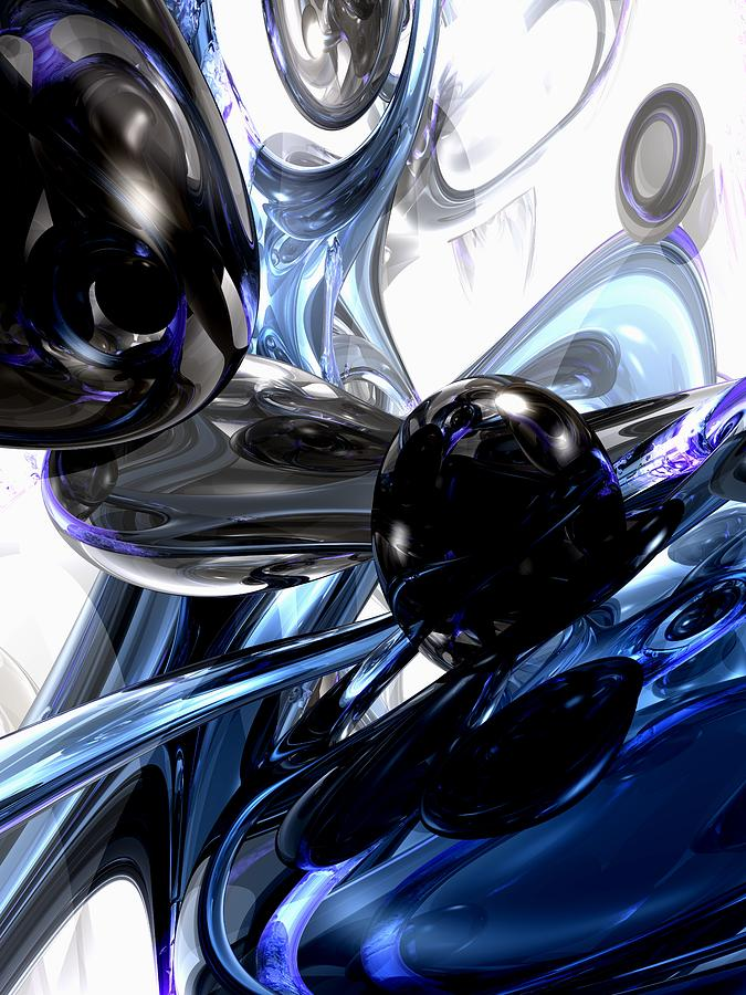 Storm Shadow Abstract Digital Art