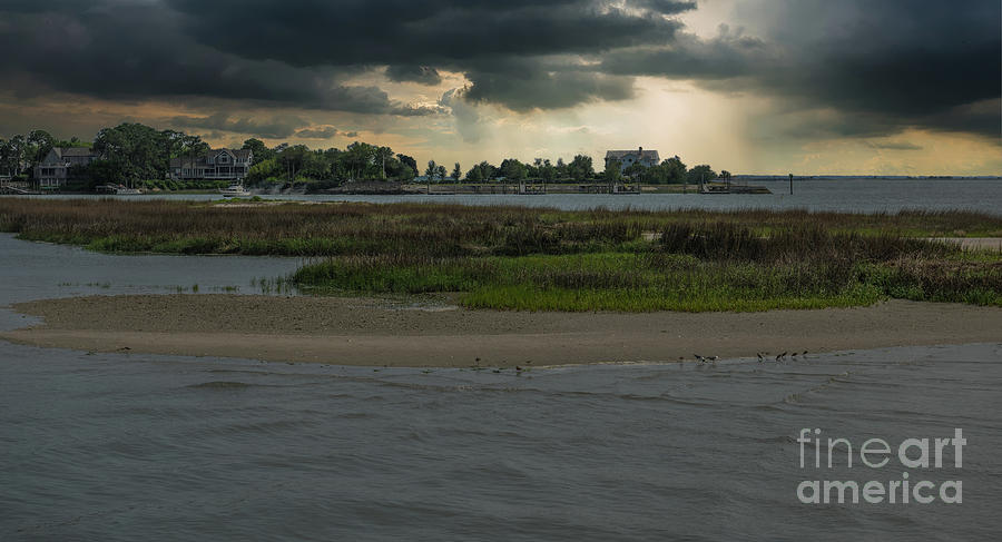 Stormy Island Life Photograph