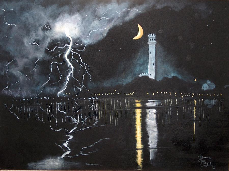 Stormy Weather Painting By Bonnie Rogers
