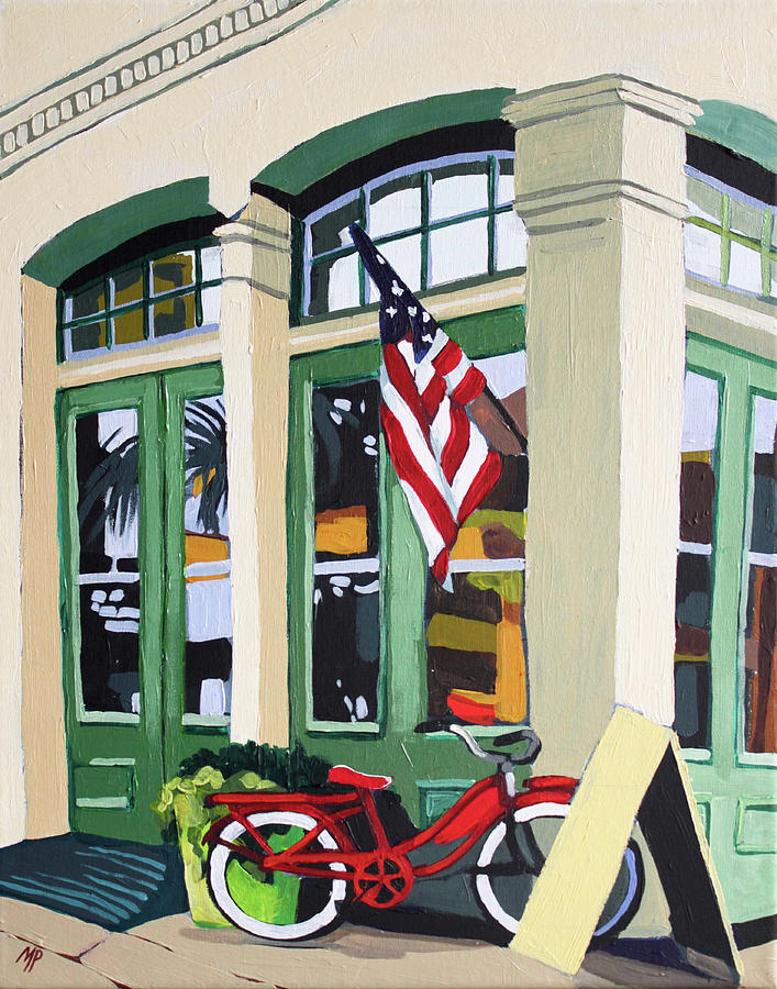Street Bike Painting