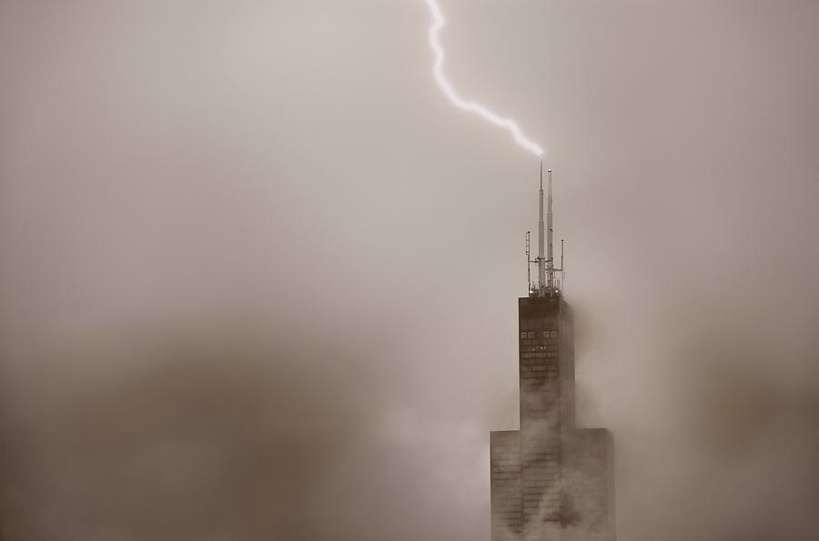 Chicago Photograph - Strike by Steve Gadomski