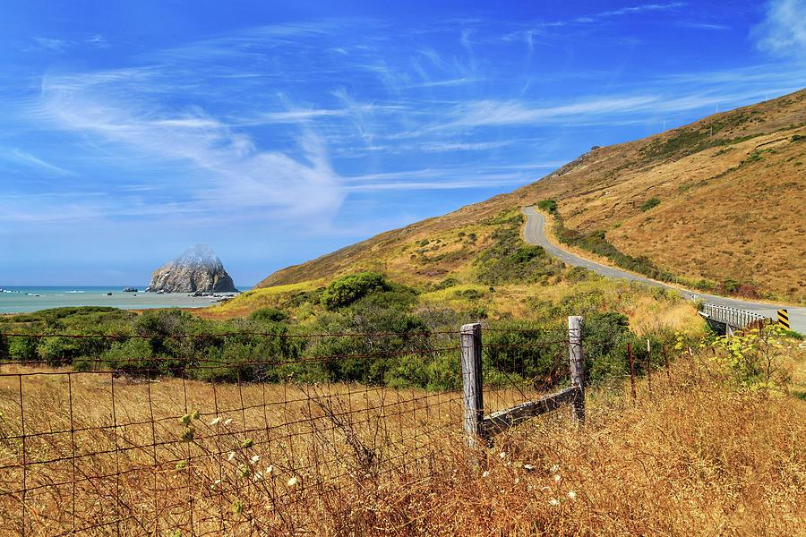 Sugarloaf Island On The Lost Coast Photograph