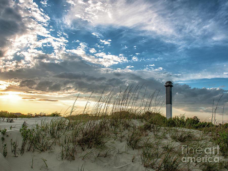Sullivans Island Lighthouse Total Contrast Photograph