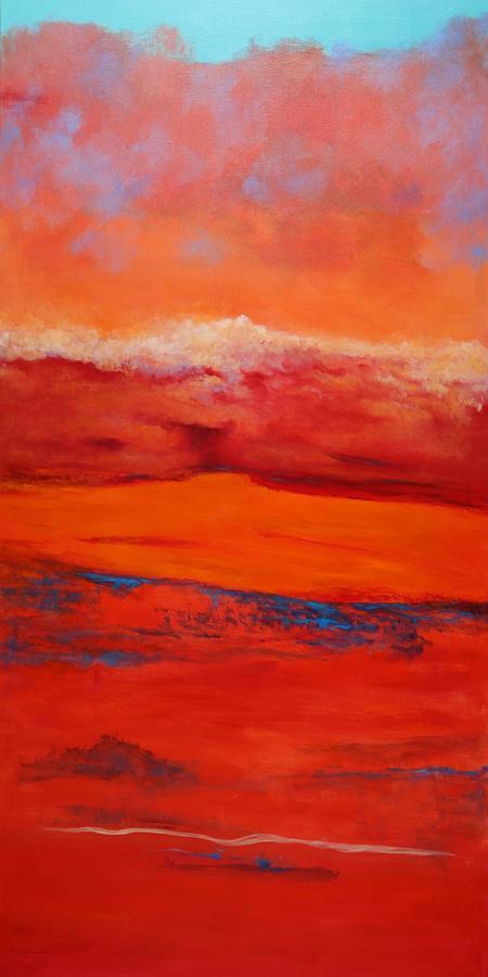 Summer Heat 12 Painting By M Diane Bonaparte