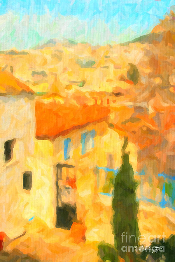 Summer In Athens Painting