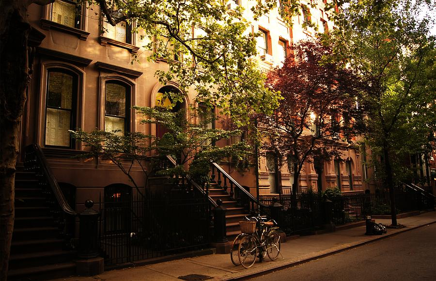 Summer in new york city greenwich village photograph by for Nyc greenwich village apartments