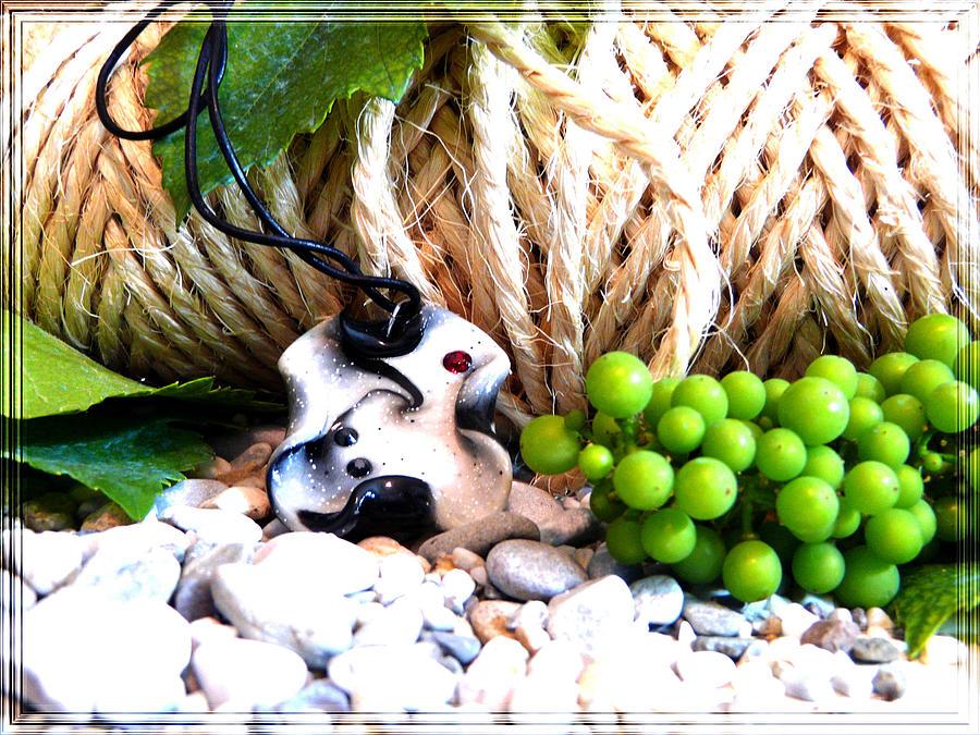 Grapes Photograph - Summer Jewel by Chara Giakoumaki