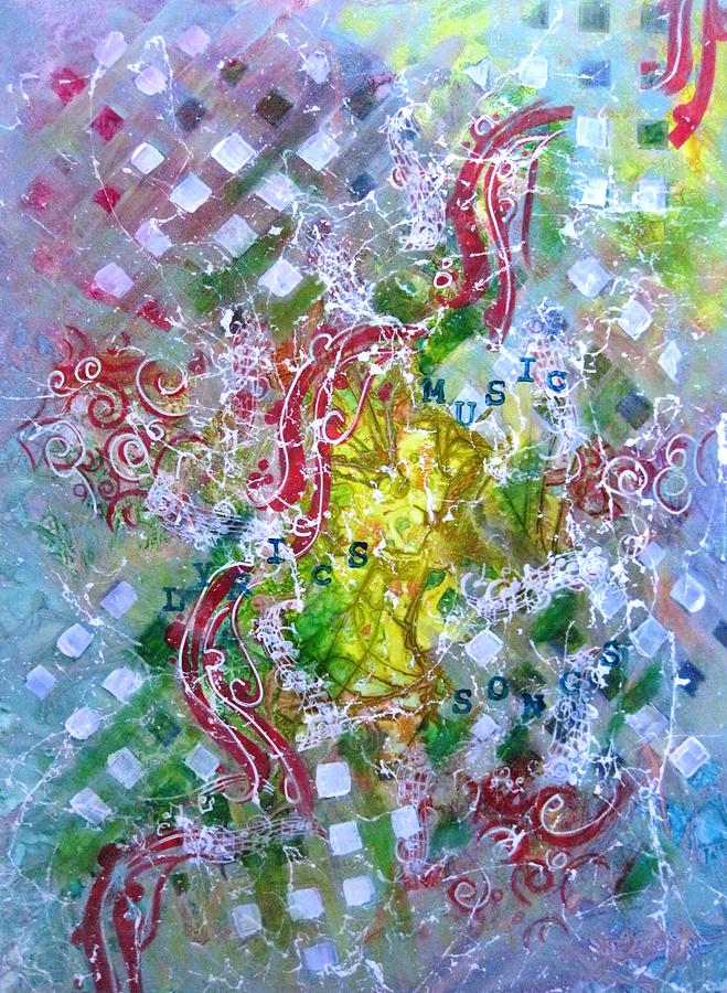 Abstract Painting - Summer Symphony by David Raderstorf