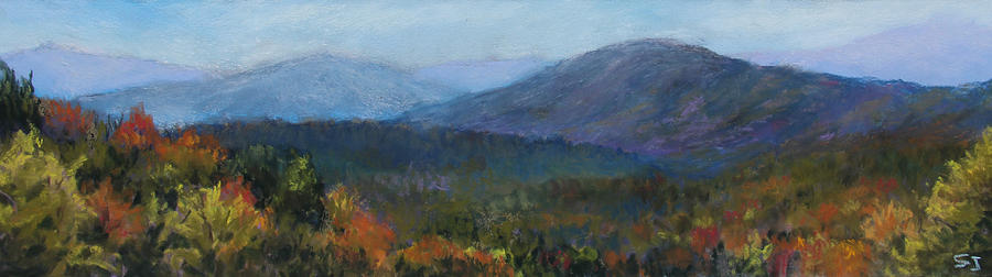 Landscape Pastel - Summers Retreat by Susan Jenkins