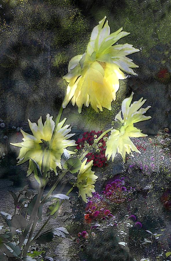 Sun Flower Digital Art - Sunflower Dream by Tom Romeo
