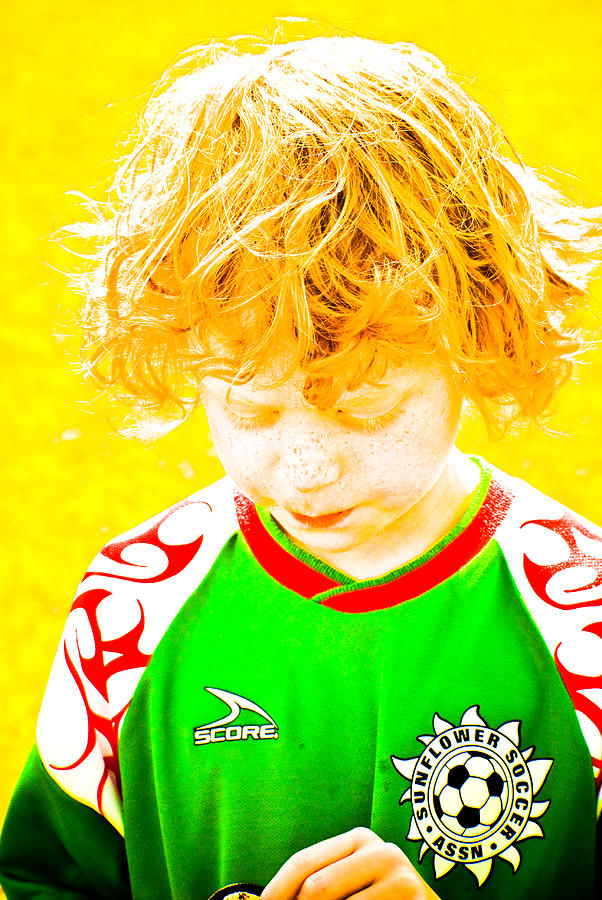 Sunflower Soccer Association Photograph