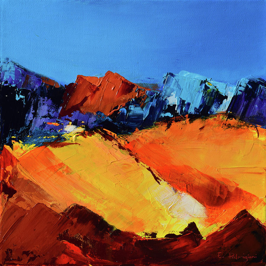Sunlight In The Valley Painting