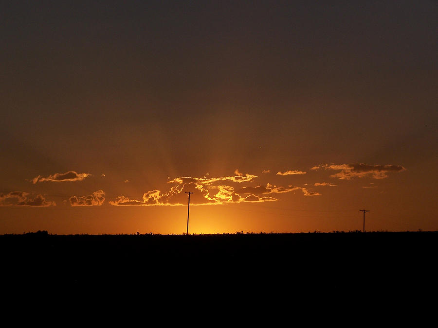 Digital Photograph - Sunrise 2 by Travis Wilson