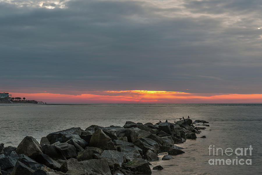 Sunrise Breaking Through Photograph