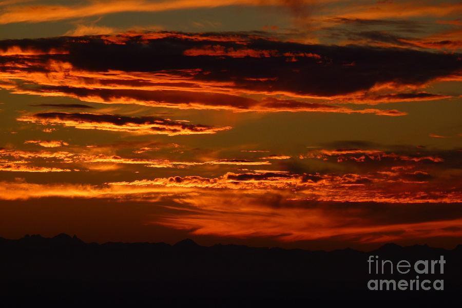 Absence Photograph - Sunset 5 by Jean Bernard Roussilhe
