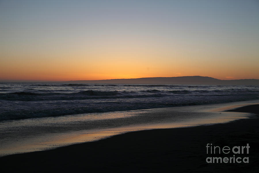 sunset Beach Photograph - Sunset Beach California by Amanda Barcon