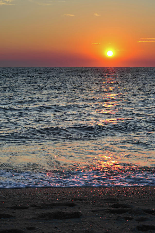 Sunset Beach Cape May Point New Jersey V Photograph By