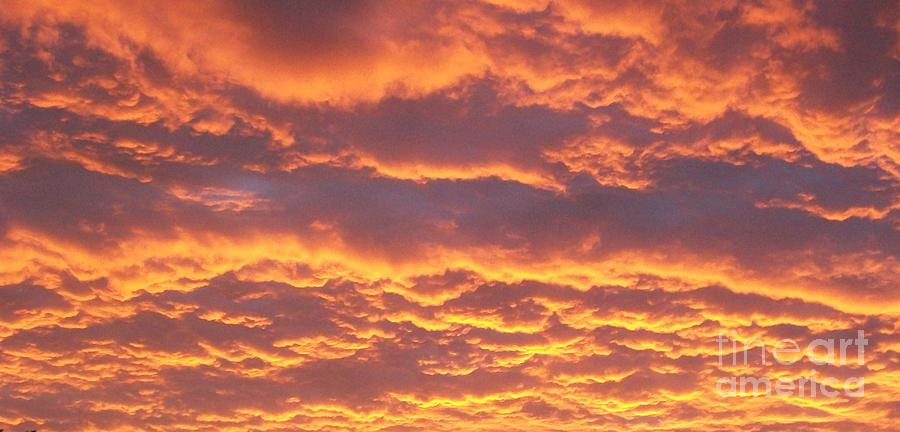 Sunset Clouds After The Storm Photograph