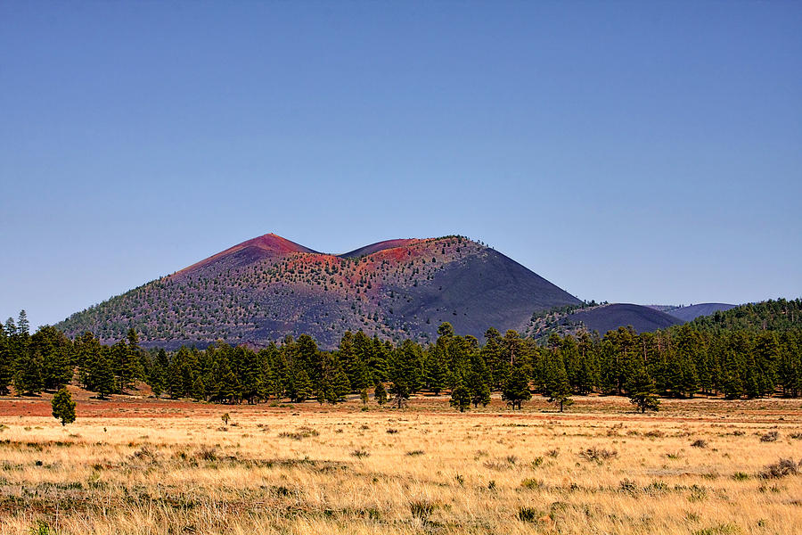 Crater Photograph - Sunset Crater Volcano National Monument by Christine Till