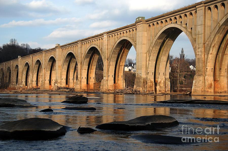 Bridge Photograph - Sunset Crossing by Kelvin Booker