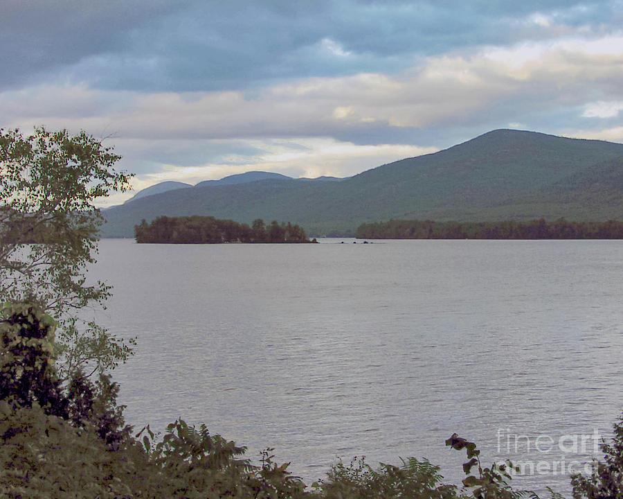 Sunset Lake George New York Photograph